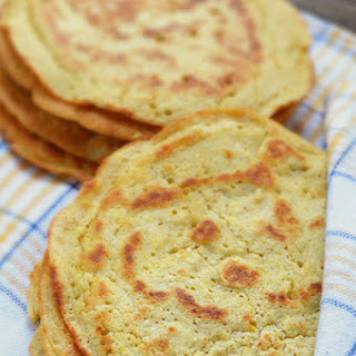 Chickpea Flour Tortillas - Low Carb, Diabetic