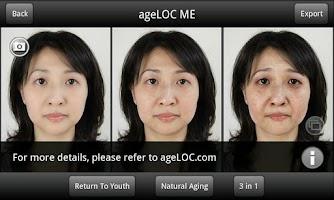 Screenshot of ageLOC ME(NU SKIN GC/SEA)