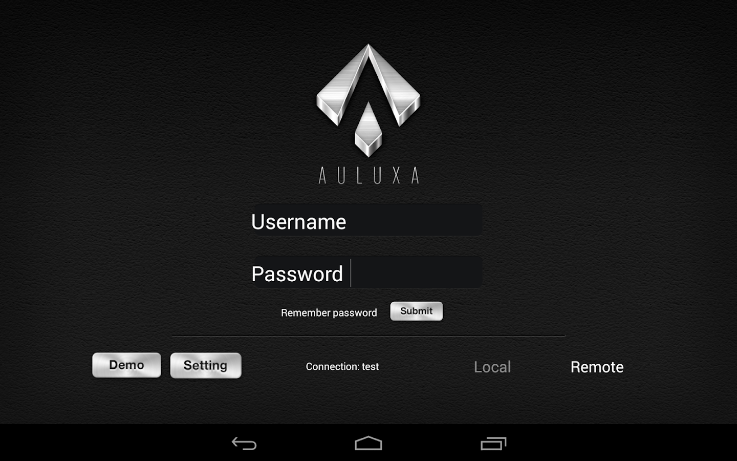 Auluxa- screenshot