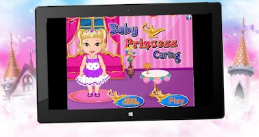 Screenshot of Baby Princess Caring Game