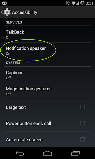 Notification Speaker