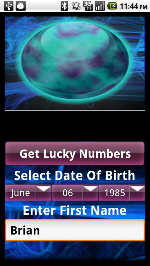 Lucky Numbers Fortune Lotto- screenshot
