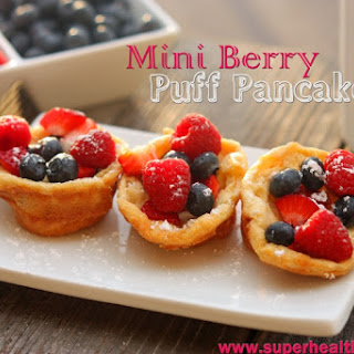 Mini Berry Puff Pancakes