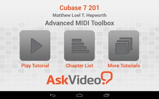 Cubase 7 Advanced MIDI Toolbox