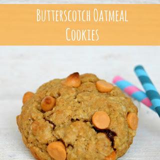 American Butterscotch Oatmeal Cookies