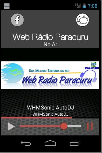 玩音樂App|WEB RÁDIO PARACURU免費|APP試玩