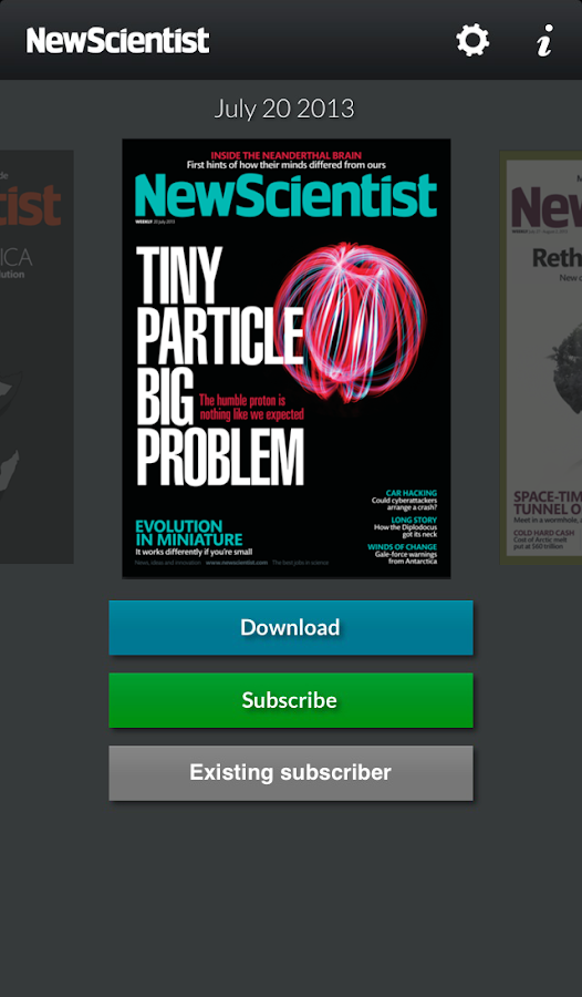 New Scientist - screenshot