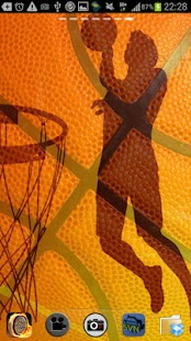 Free Basketball Live Wallpaper - screenshot thumbnail