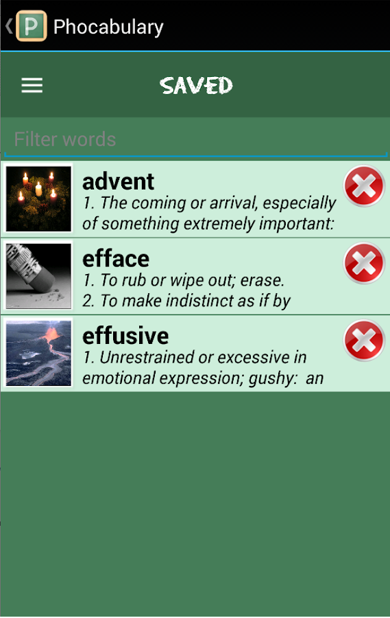 Phocabulary - photo vocabulary- screenshot