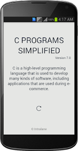 C PROGRAMMING SIMPLIFIED - screenshot thumbnail