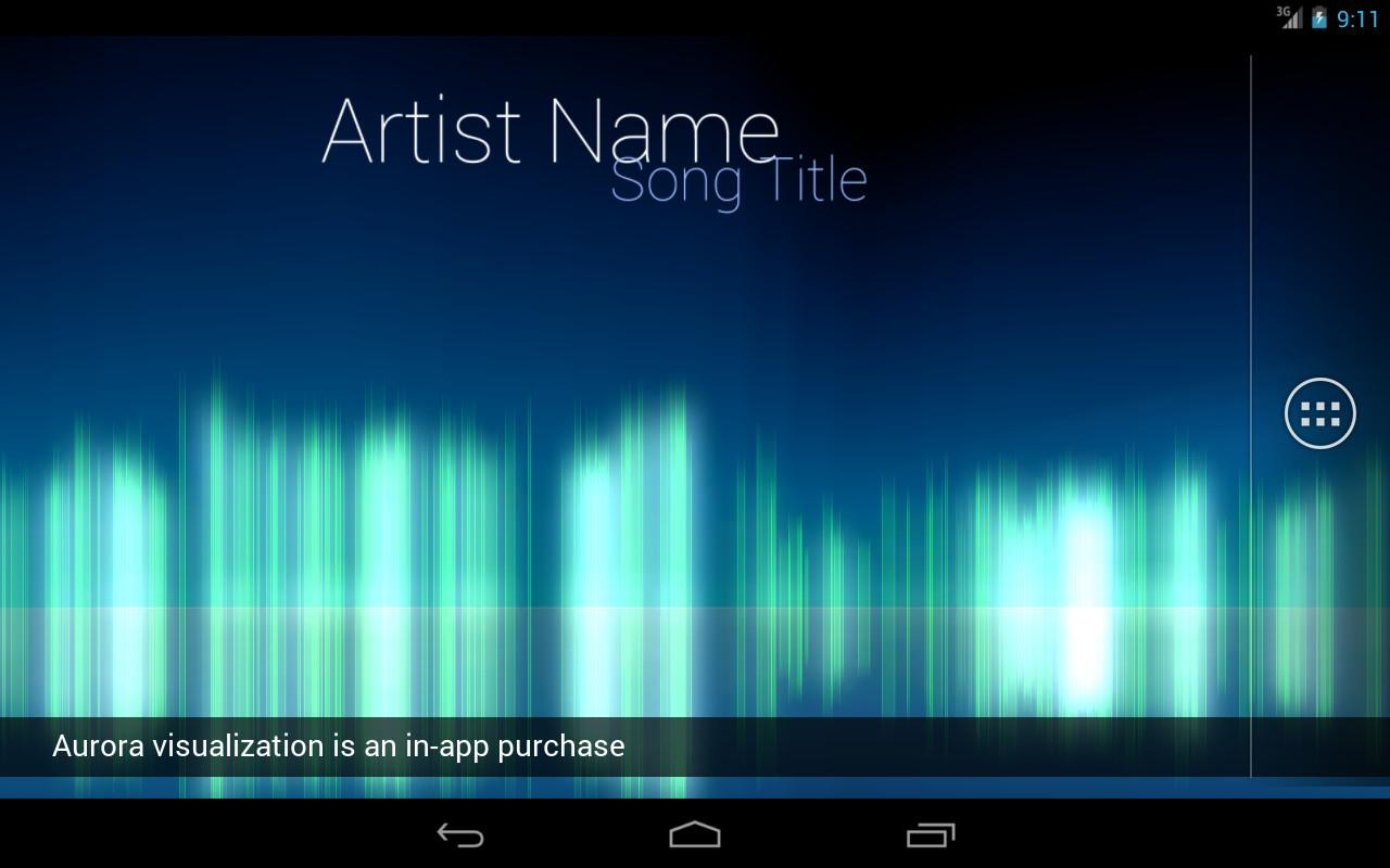 Audio Glow Live Wallpaper - screenshot