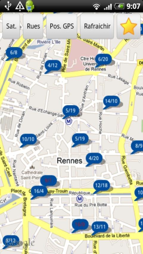 Velo Rennes Apside - screenshot