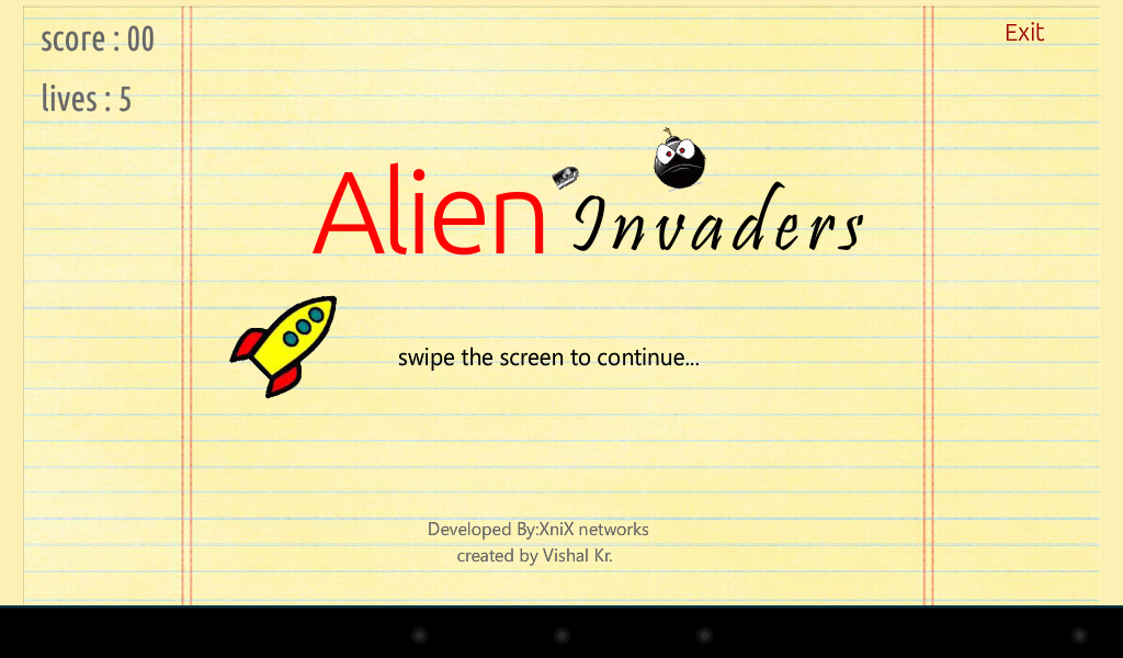 Alien Attack- screenshot
