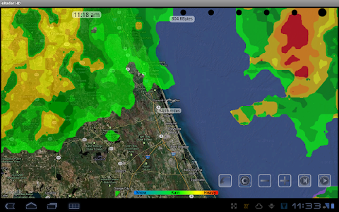 eRadar HD - NOAA Hi-Def radar screenshot 9