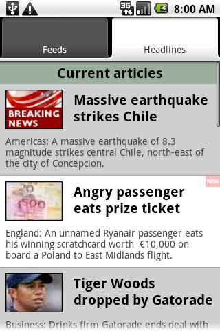 UK & World News - screenshot