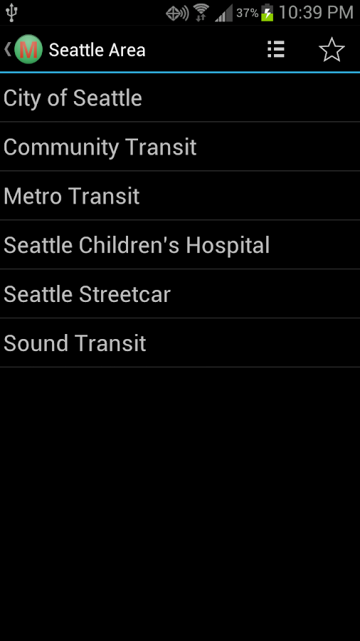 Seattle Metro Alerts - screenshot