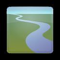 RiverFlows logo