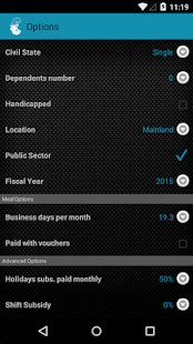 Simulador Salário Líquido - screenshot thumbnail