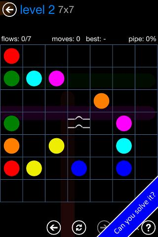 Flow Free: Bridges - screenshot
