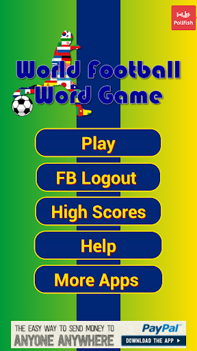 World Football Word Game