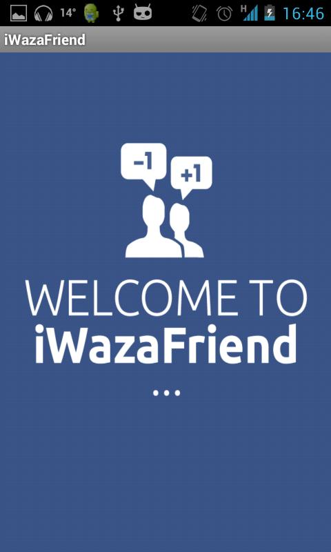 iWazaFriend - screenshot