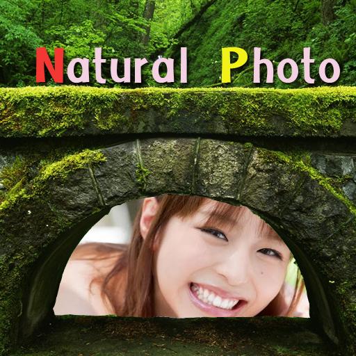 natural photo frames free