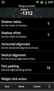 Prepaid Balance Widgets Pro v1.5.3.0