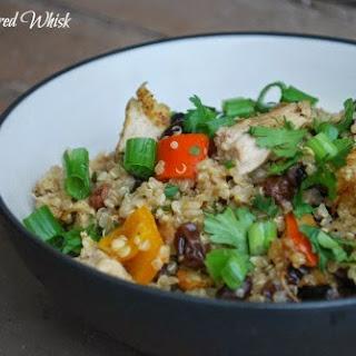 Thai Chicken and Quinoa Casserole.