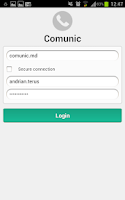 Screenshot of Comunic