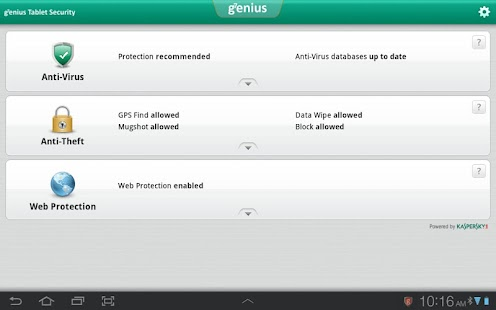 g7enius Tablet Security - screenshot thumbnail