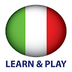 Learn and play. Italian free icon