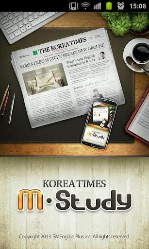 KoreaTimes M-Study 코리아타임스 엠스터디