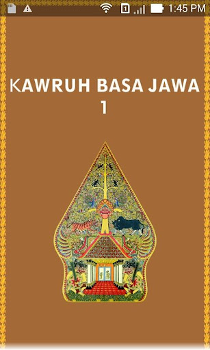 KAWRUH BASA JAWA 1