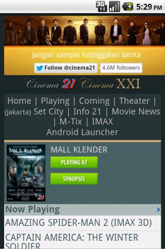 Jadwal Film Bioskop 21Cineplex