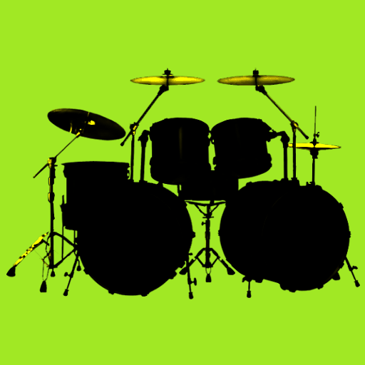 Drum Set LOGO-APP點子