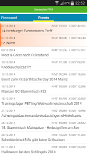 Geocaching Frankfurt gcffm.de- screenshot thumbnail