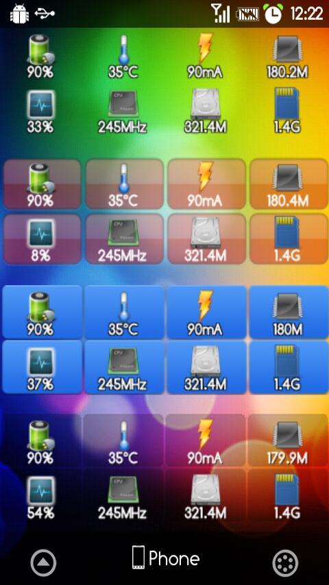 Perfect System Monitor- screenshot
