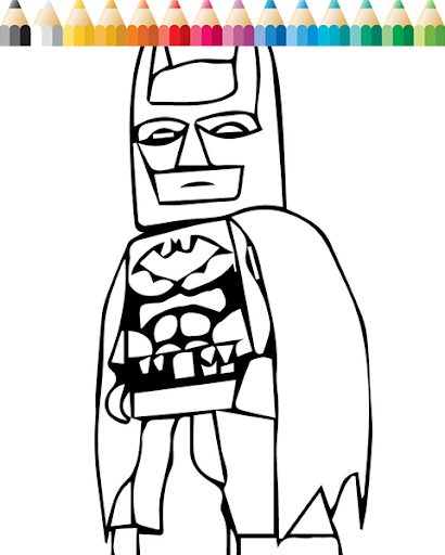 LEGO Batman Coloring