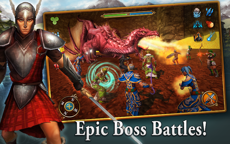 android 3D MMO Celtic Heroes Screenshot 1