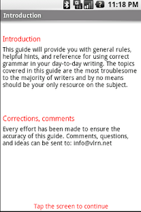 Grammar Guide- screenshot thumbnail