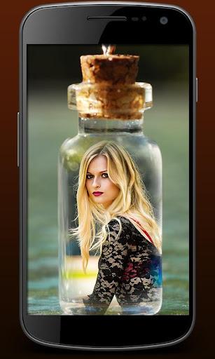 Photo In Bottle : Photo Frames