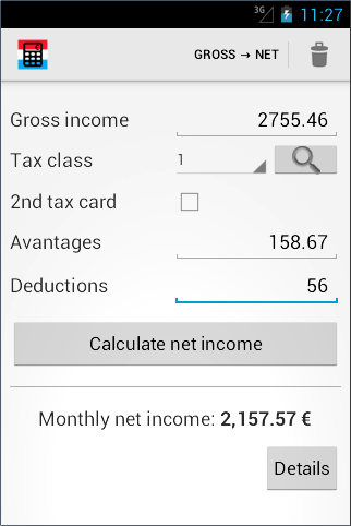 Luxembourg salary calculator