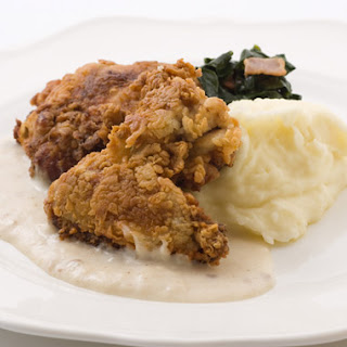 Southern Fried Chicken with Country Gravy.