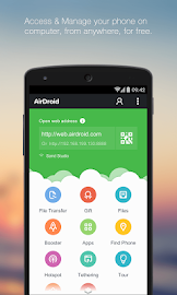 AirDroid - Android on Computer Screenshot 1