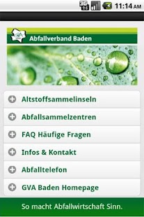 Abfallverband Baden- screenshot thumbnail