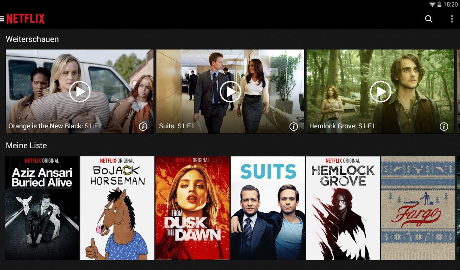 Netflix – Screenshot