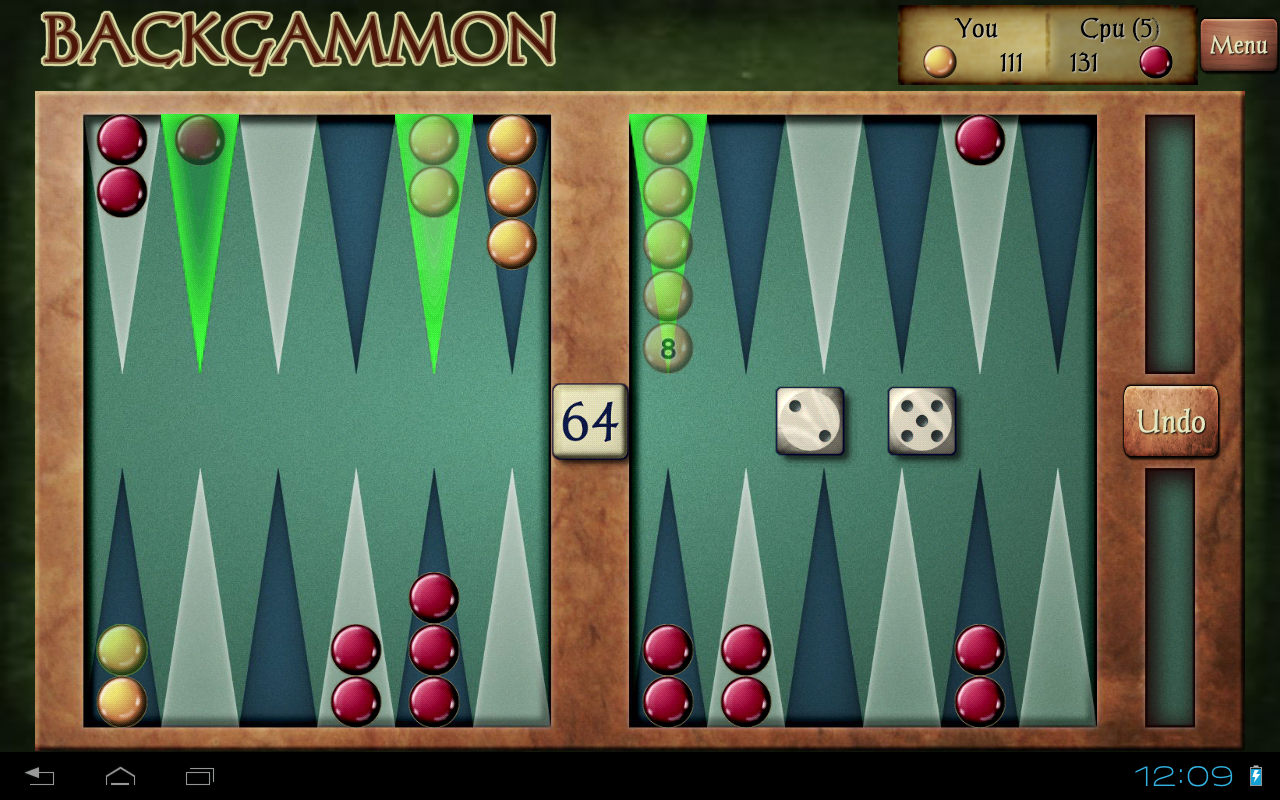 Backgammon Free- screenshot
