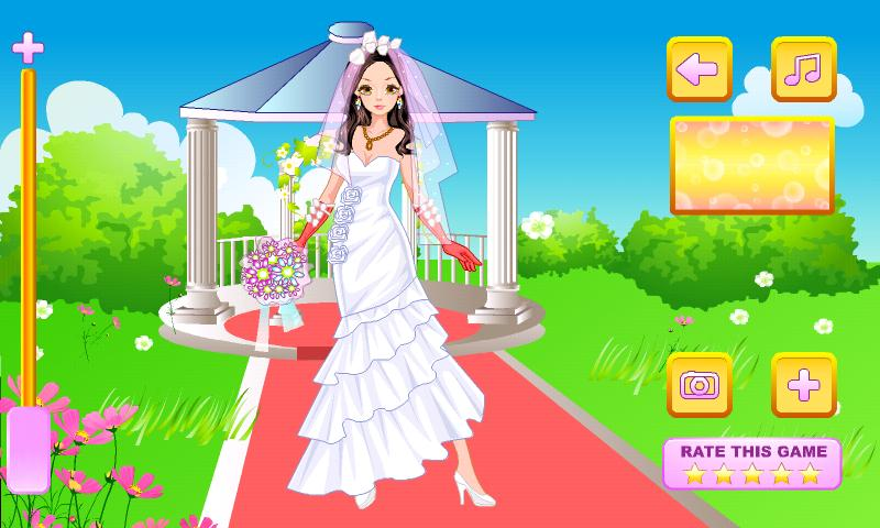 Elegant Bride Dress Up - screenshot