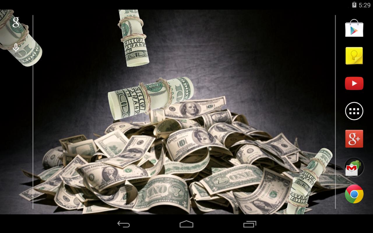 Скачать живые обои на андроид деньги
