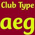 Club Type Medium FlipFont icon